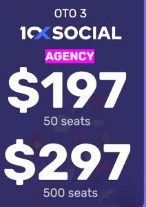 10xSocial Agency Unlimited Seats